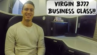 VIRGIN BOEING 777 BUSINESS CLASS SUITE!! | USA - VLOG #77