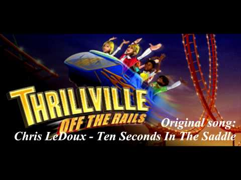 Thrillville Off The Rails Soundtrack - Chris LeDoux - Ten Seconds In The Saddle