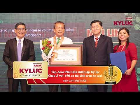 KylucRadio.vn| Tập đoàn Mai Linh thiết lập Kỷ lục châu Á với 190 ca hộ sinh trên xe taxi