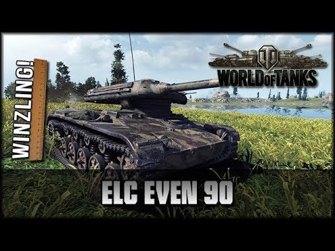 World of Tanks - Live: ELC EVEN 90 - der Winzling! [ deutsch 🐄 gameplay ]