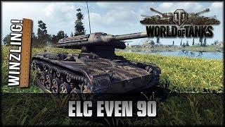 World of Tanks - Live: ELC EVEN 90 - der Winzling! [ deutsch 🐄 gameplay ]