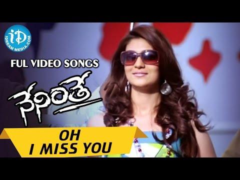 Ravi Teja Neninthe Telugu Movie - Oh I Miss You Video Song || Siya || Puri Jagannath