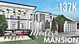 Roblox | Bloxburg | Modern Family Mansion