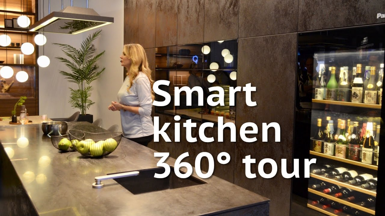 Smart Kitchen Of The Future Tour YouTube - Smart kitchen