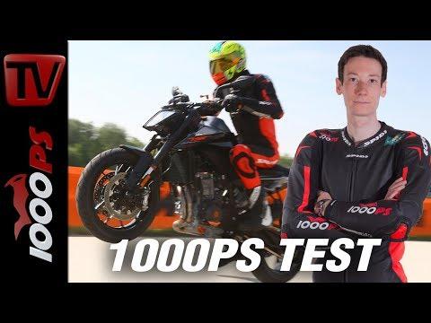 1000PS Test - KTM 790 Duke - Assistenzsysteme unter der Lupe