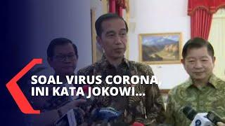 Maraknya Virus Corona, Jokowi Tegaskan Hal Ini