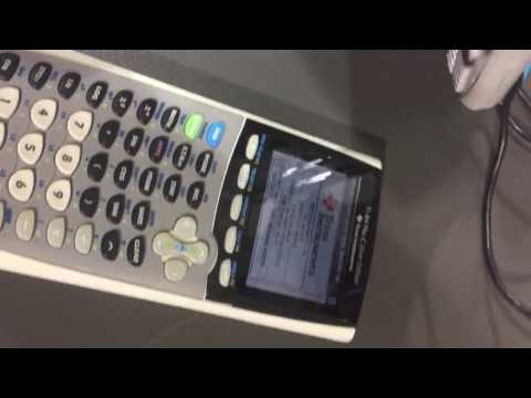How to charge TI 84 Plus C Silver Edition: plugging in USB charging cable to Texas Instruments