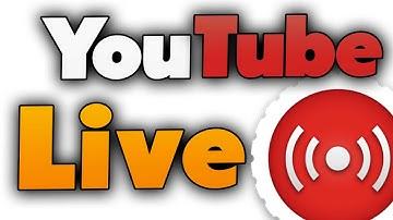 YouTube Livestreams einrichten und starten (Tutorial)