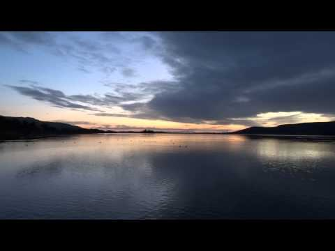 Christmas Day Sunrise Loch Leven Perthshire Scotland