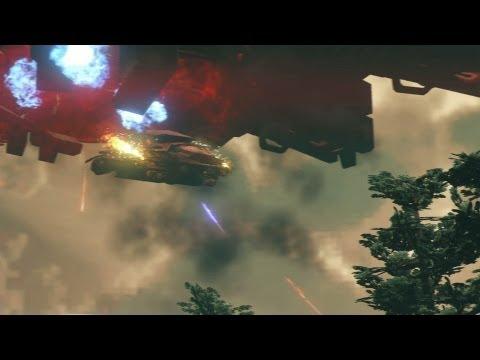 Alien Shooting - Saints Row 4 - E3 2013 Gameplay
