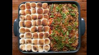 Tasty Sweet Savory Potato Casserole