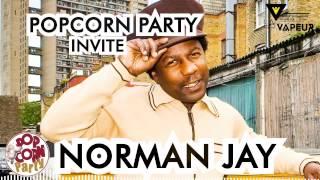 PopCorn Party Invite Norman Jay à la Vapeur Dijon