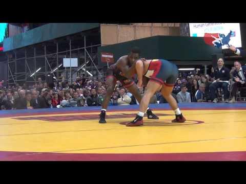 65 KG - Logan Stieber (USA) vs. Haislan Garcia (Canada)