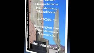 Dissertation on mentoring