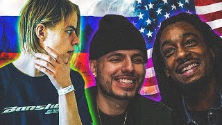 AMERICANS REACT FIRST TIME TO RUSSIAN RAPPER PHARAOH - Smart (PROD. BY MEEP)