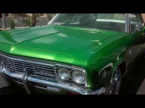 Green Chevy Caprice - video link of outside car