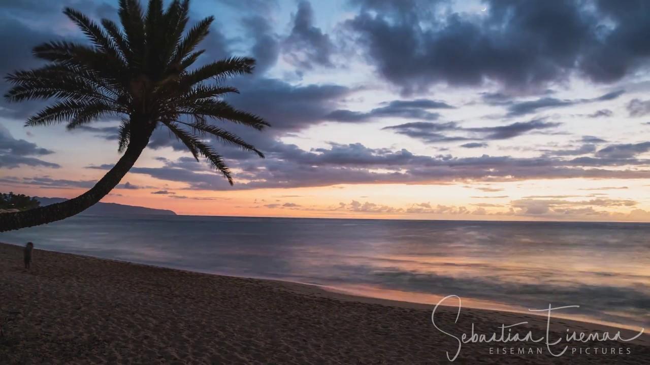 Sunset Beach Crooked Palm Oahu Hawaii