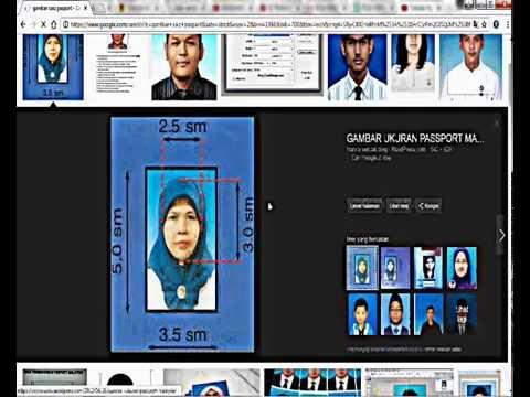Tutorial Hasilkan Gambar Pasport Guna Microsoft Office Word Mykomunitikreatif Mykif Youtube