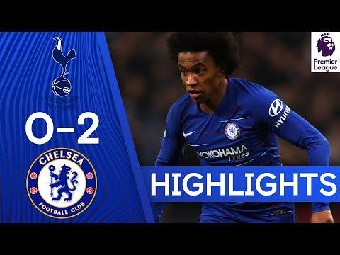 Tottenham 0-2 Chelsea| Highlights