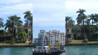 Miami - Millionaire's Row - Homes of Rich and Famous -