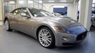 2011 Maserati Gran Turismo C Start Up, Exhaust, and In Depth Tour