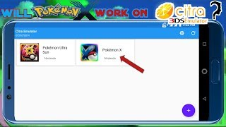 Will Pokemon x be able to Run on citra 3ds emulator Full HD