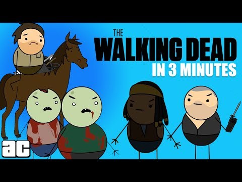 The Story of The Walking Dead In 3 Minutes! | Storylines in 3 @ArcadeCloud