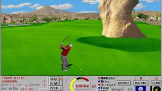 Links: Championship Course - Troon North (Access Software) (MS-DOS) [1992]