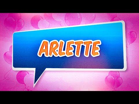 Joyeux anniversaire Arlette