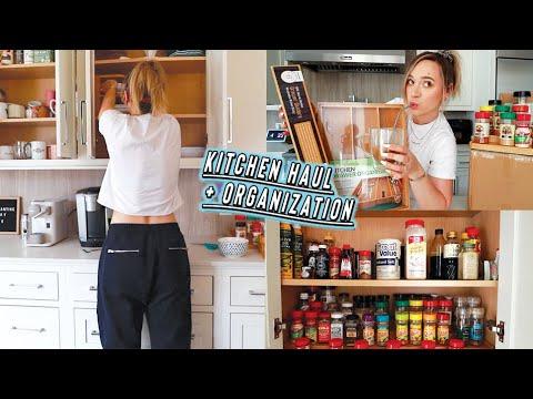 huge amazon kitchen haul + insane organization!!