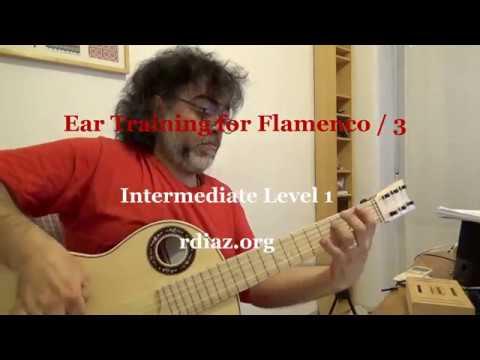 Ear training (3 Phrygian) in modern flamenco guitar / Learn Paco de Lucia´s Style/ Ruben Diaz