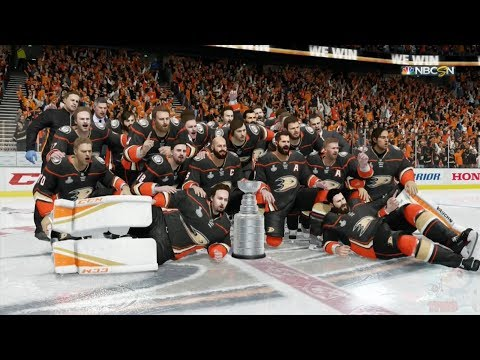 NHL 18 - Anaheim Ducks Stanley Cup Celebration