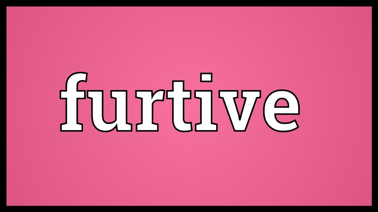 Attractive Furtive Meaning