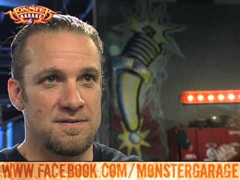 Monster garage jesse james isn 39 t pleased with the pt - Jesse james monster garage ...