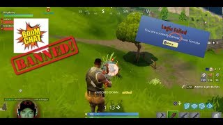 #1 FORTNITE PLAYER GETS BANNED! 😱 (AlexRamiGaming)