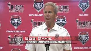 2012 Lobo Football | Coach Bob Davie: Fresno State Post-Game Press Conference