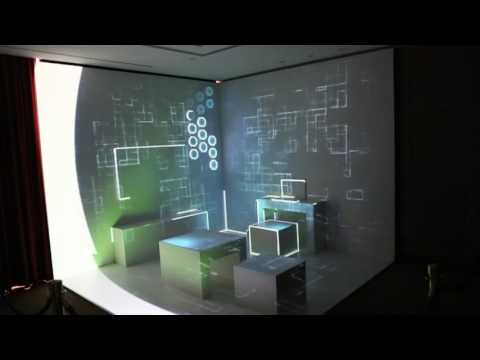 Amazing 3d mapping room