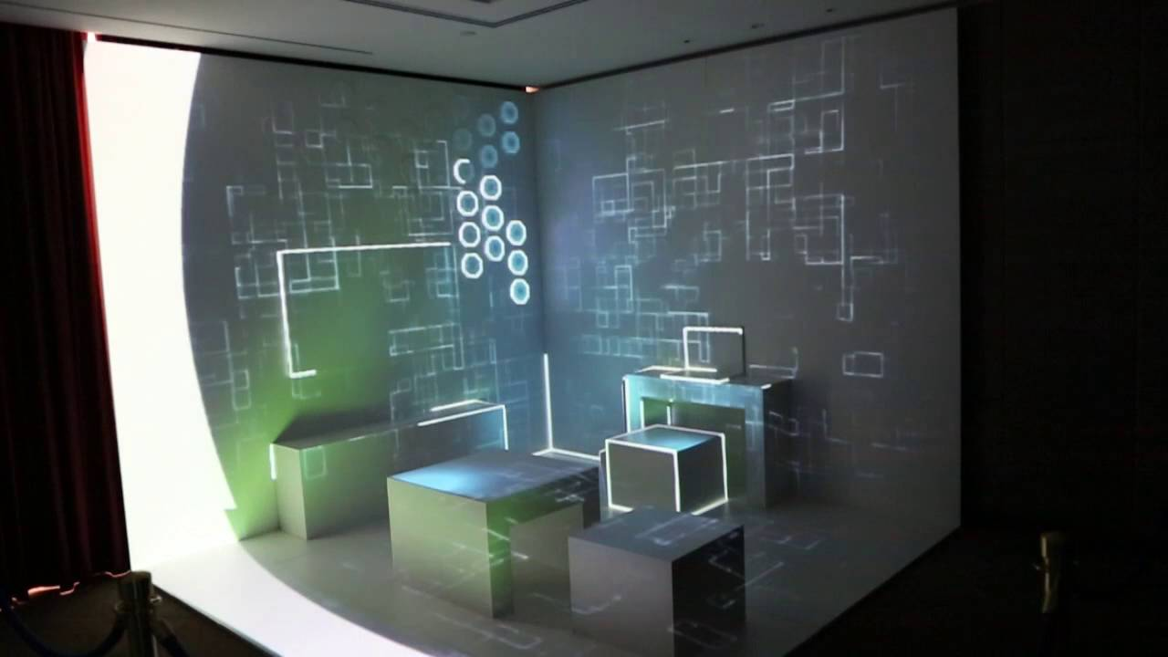 Amazing 3d mapping room  YouTube