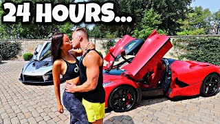 LIVING LIKE THE RICHEST KID IN AMERICA FOR 24 HOURS!