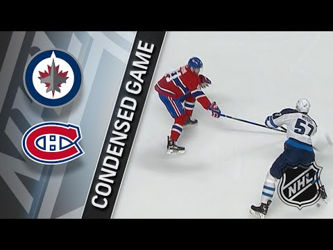 04/03/18 Condensed Game: Jets @ Canadiens