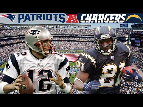 One Mistake Ends a Super Bowl Run! (Patriots vs. Chargers, 2006 AFC Divisional)
