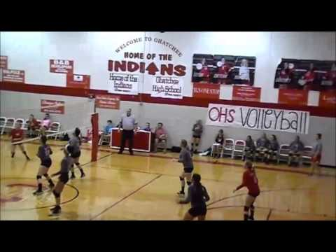 Courtney Poole, Ohatchee High School 2016, Volleyball Highlight Video 5