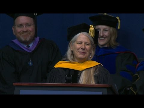 Dr. Jill Bolte Taylor Commencement Address 2016 - YouTube
