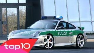 Dünyanın en lüks en pahalı polis arabaları