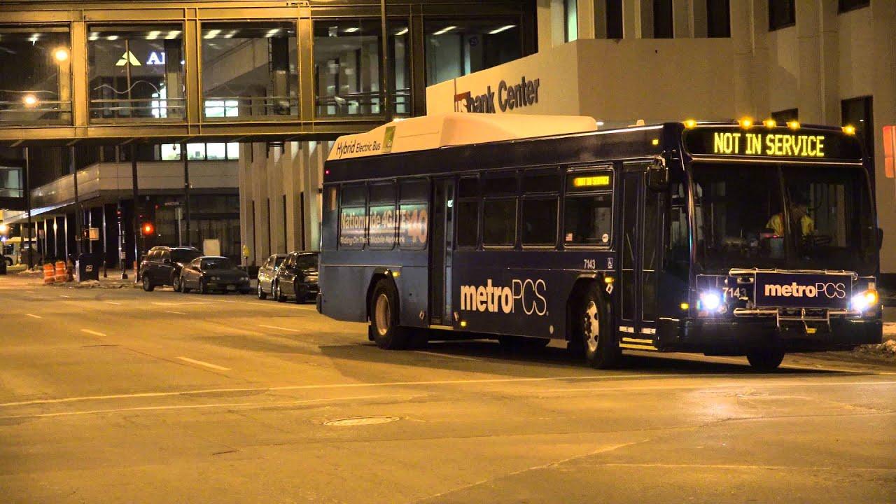 Metro Transit Mn Gillig Low Floor Advantage Brt Bus 7143