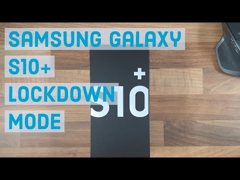 Lockdown Mode | Samsung Galaxy S10 Plus