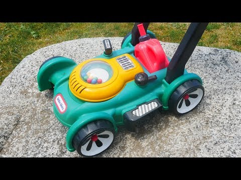 Toy Lawn Mower At Playground | Gas 'n Go Mower