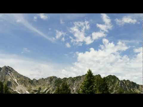 Green Screen Background moving Mountains 1