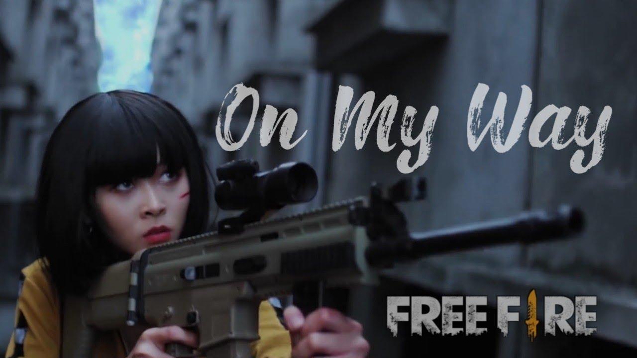 Alan Walker - On My Way Versi Free Fire (Full Lyrics)