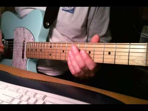 Kim Mitchell, Patio Lanterns - guitar lesson